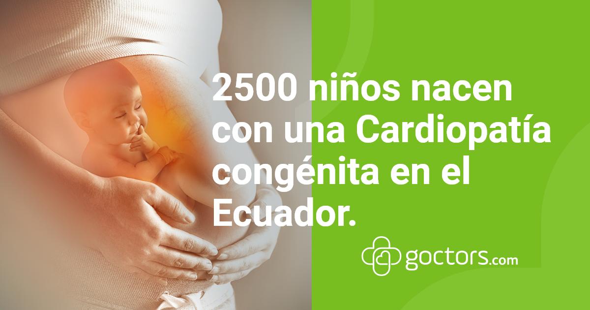 cardiopatía congénita en el ecuador