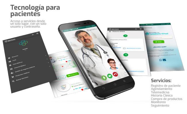 Goctors tecnología para pacientes
